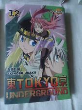 Tokyo Underground Tome 12 Akinobu Uraku TAIFU MANGA FANTASTIQUE SCIENCE FICTION