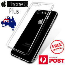 iPhone 8 Plus Transparent Ultra Thin Clear TPU Tough Silicon Gel Cover Case