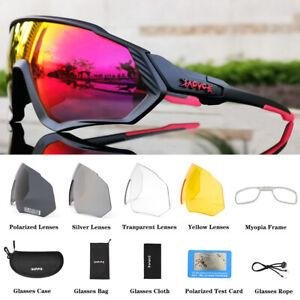Cycling Glasses MTB Bike Eyewear Running Fishing Polarized Bicycle Sunglasses