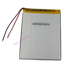 3.7V 3500 mAh Rechargeable Polymer Li battery Lipo For GPS PDA Tablet PC 3976103