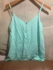 MINT VALLEY GIRL ZIP FRONT TOP BNWT SZ 8 FREE POSTAGE (A86)