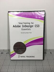 Total Training for Adobe InDesign CS2 Essentials New Sealed