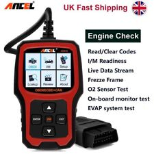 OBDII Car Code Reader Update Engine Diagnotic Scanner Tool I/m Ancel Ad410