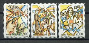 S10084) Vatican MNH 1990, Saint Angela Merici 3v