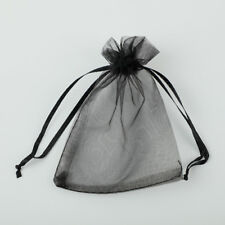 25/100pcs 7x9 9x12 10x15 13x18cm Organza Bag Wedding Gift Bags Jewelry Packaging