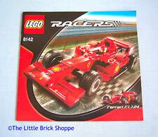Lego Racers 8142 Ferrari 248 F1 1:24 - INSTRUCTION BOOK  ONLY - No Lego bricks