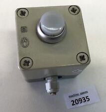 Gehäuse mit Taster - 7x7x8 cm Aufputz für Maschine Anlagen Start Taster