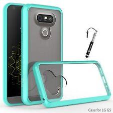 Étuis, housses et coques bleus brillants pour téléphone mobile et assistant personnel (PDA) LG