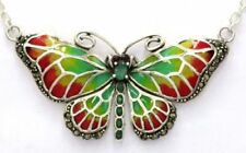 Emerald Ruby Marcasite Fine Necklaces & Pendants