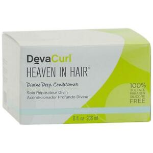 Deva Curl Heaven In Hair Divine Deep Conditioner 8 oz/ 236 ml