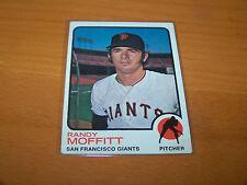 SAN FRANCISCO GIANTS RANDY MOFFITT 1973 TOPPS #43