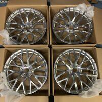 "New Genuine Audi R8 20"" Alloy wheel set 4S0601025C(x2) 4S0601025AC(x2)"