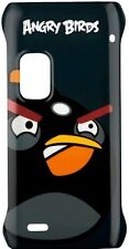 Nokia CC-5001 Angry Birds Hard Case for Nokia E7 - Black Bird