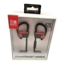 Beats Powerbeats3 PowerBeats 3 Wireless In Ear Headphones Bluetooth Red