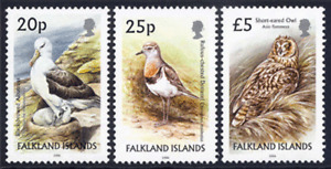 FALKLAND ISLANDS 2006 BIRDS DEFINITIVE TRIO TO £5 VERY FINE UNMOUNTED MINT