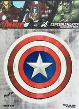 Marvel Captain America Car Window Decal Sticker Auto -  Licenesed - Avengers