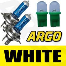 501 LED GREEN T10 W5W SIDELIGHT BULBS H4 XENON WHITE 448 HEADLIGHT HEADLAMP 55W
