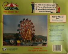 IHC 5110 HO Scale Ferris Wheel Carnival Ride Circus Model Train Kit 1 87