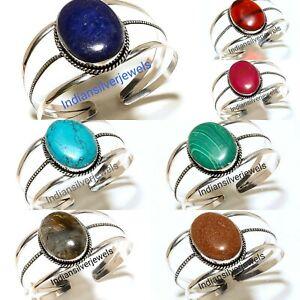 Charming Wholesale Lot Of Bracelets Gemstone Handmade Cuff Fashion Jewelry 10pcs