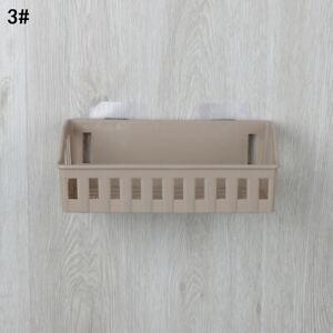 Bathroom Storage Basket Holder Shelf Shower Caddy Shampoo Suction Cup US