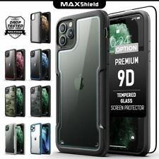 Para MAXSHIELD iPhone 11 Pro Max Funda cubierta resistente a prueba de choques a Delgado Claro