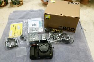 NIKON D800 36.3MP Digital SLR Camera (Body) Made in Japan - Excellent Condition!