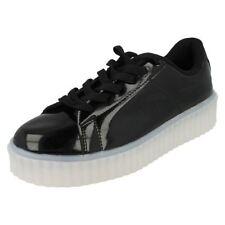 Chaussures noires à lacets pour fille de 2 à 16 ans, pointure 37
