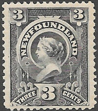 Newfoundland Scott Number 60a FVF HR Cat C$32.50