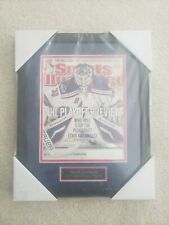 Henrik Lundqvist Ny Rangers Signed Sports Illustrated Magazine Done By Steiner.