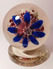 SALE PRICE* MARVELOUS Edward Rithner Antique Upright ICE PICK FLOWER Paperweight
