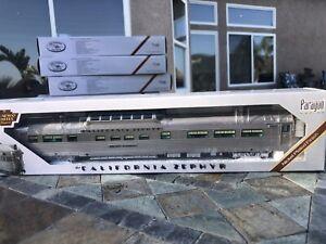 "Broadway Ltd 504 California Zephyr/CB&Q Vista Dome Car #4719 ""Silver Ranch"""