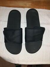 Mens nike slides size 12 black