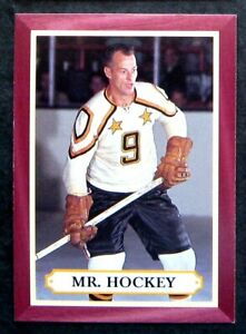 1995-96 Parkhurst '66-67 Gordie Howe Mr. Hockey Card #MH4