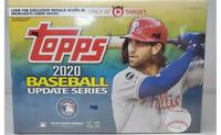 2020 Topps Baseball Update Mega Box Target SEALED platinum bowman chrome