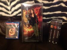 Katniss Barbie Collector Black Label-los juegos del hambre Sellado Libros & Blu Ray