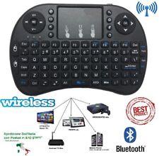 Mini Tastiera wireless per TV box Smart TV Android ecc