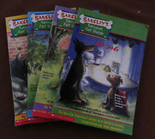4 Books - Barkley's School for Dogs - Jones & Dadey  illustrated Wummer