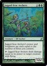 JAGGED-SCAR ARCHERS Lorwyn MTG Green Creature — Elf Archer Unc