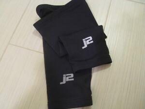 J2 Velosport Knee Warmers Sizes M or L, Road Cycling, Cross, MTB