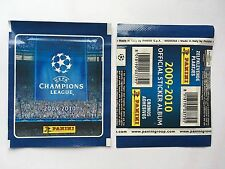 POCHETTE PANINI CHAMPIONS LEAGUE 2009 2010 PACKET TUTEN BUSTINA