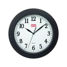 "Staples Wall Clock Plastic 10"" Dia. (32436) 687525"