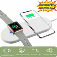 2-in-1 Wireless Charger for iPhone 12 Pro, Max,12,Mini,Watch Series 6,5,4,3,2,SE