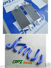 aluminum radiator & hose Husqvarna Husky AE/CR/WR/XC 400/430/500 1984-1988 87 86