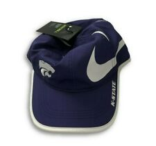 low priced e3a55 de47f NWT New Kansas State Wildcats Nike Dri-Fit Logo Aerobill Adjustable Hat
