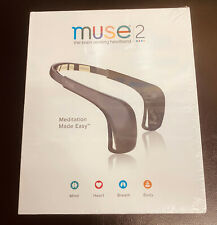 🔥🔥 WoW Muse 2 🔥🔥 The Brain Sensing Headband Meditation Black 🔥🔥Sealed 🔥🔥