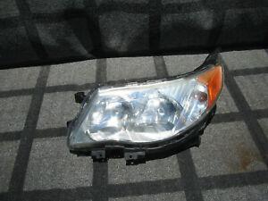 SUBARU FORESTER HEAD LIGHT LAMP HALOGEN OEM 2009 2010 2011 2012 LH SCUFFED