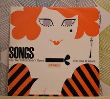 Songs From Threepenny Opera / Irma La Douce [Vinyl LP,1963] UK ST 253 *EXC