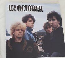 U2: October (Remastered Vinyl Album) Ex Display / New / Not Sealed