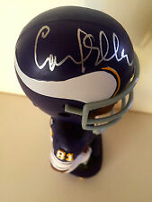 Carl Eller, MN. Vikings NFL Legend SIGNED Bobblehead W/COA (Mint in Box)