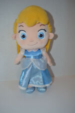 "New Genuine Disney Store 12"" Plush Cinderella Toddler Doll New Without Tags"